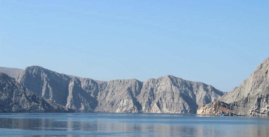 Gebirge von Khasab Musandam